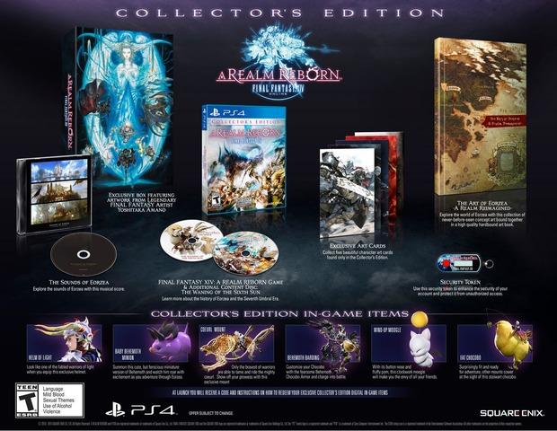 Final Fantasy XIV: A Realm Reborn - un'immagine per la Collector's Edition su PS4