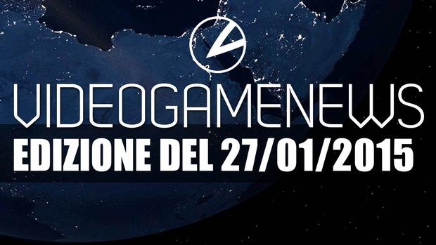 Videogame News: l'edizione del 27 Gennaio è online - Notizia