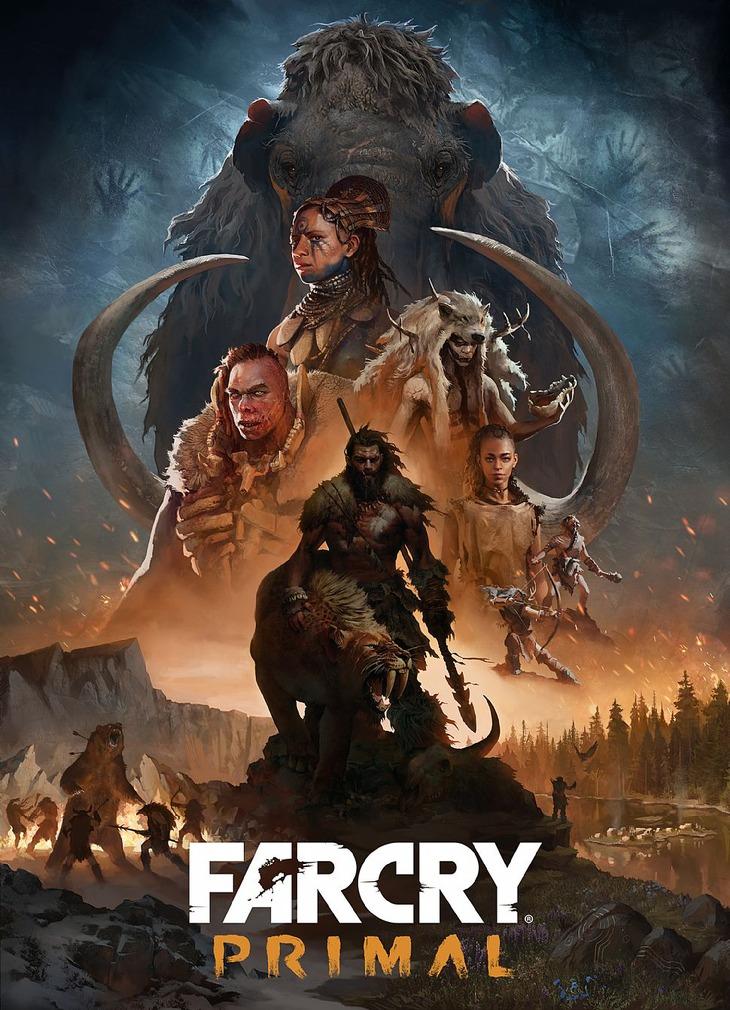 Far Cry Primal: Ubisoft pubblica nuove immagini e concept art