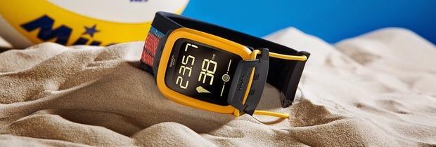 Swatch annuncia uno smartwatch dedicato agli appassionati di beach volley
