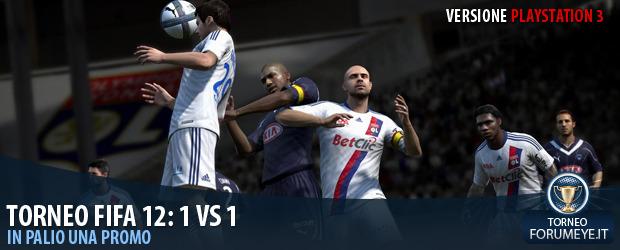 [PS3]Fifa 12: Torneo 1 Vs 1