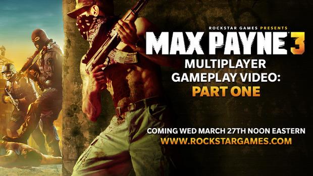 Max Payne 3: il multiplayer delineato nel prossimo trailer, disponibile da domani 28 Marzo