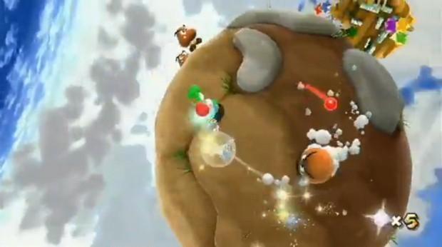 Super Mario Galaxy 2, nuova clip Gameplay