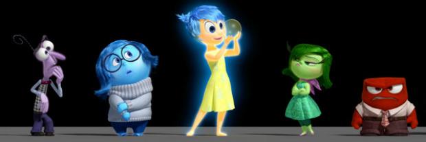 Inside Out: i character poster italiani di Paura e Rabbia, nuovi character video - Notizia