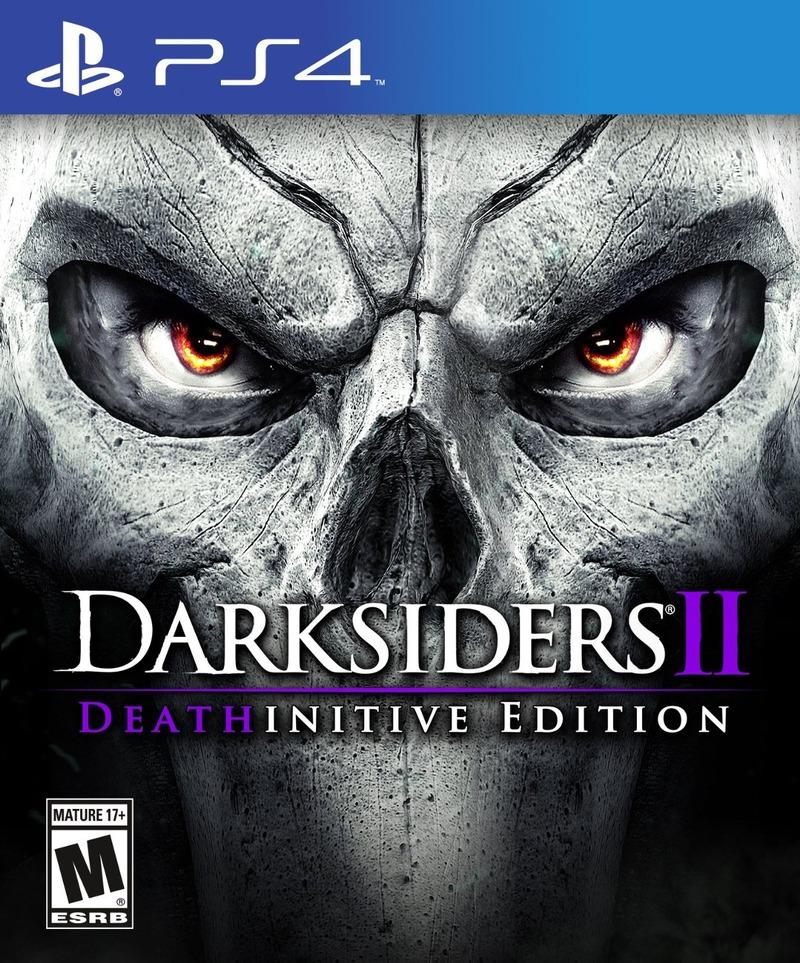 Svelata la copertina di Darksiders II Deathinitive Edition