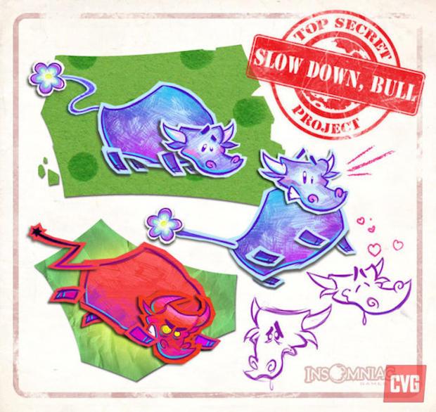 Insomniac Games lancia il progetto Slow Down Bull