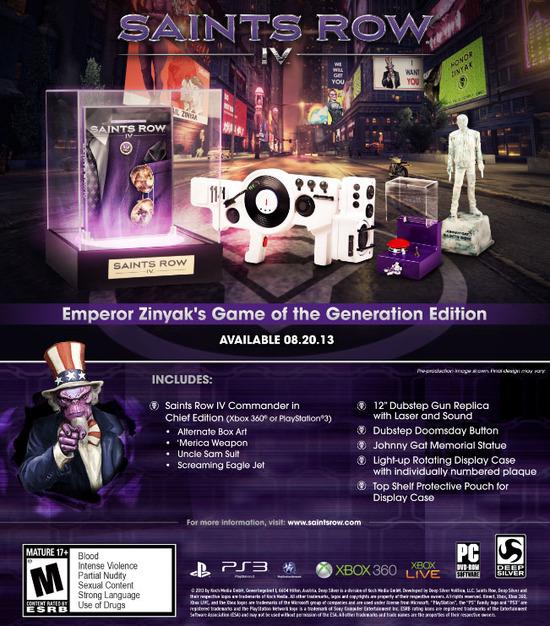 Saints Row 4: annunciata la 'Game of the Generation Edition'