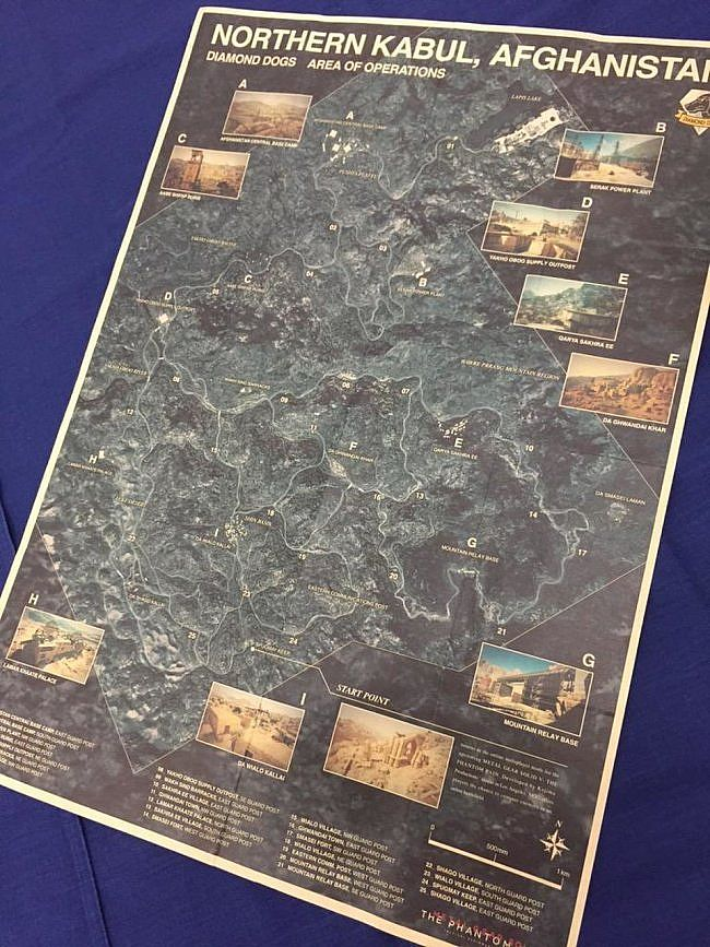 Metal Gear Solid 5 The Phantom Pain: online la mappa dell'Afghanistan