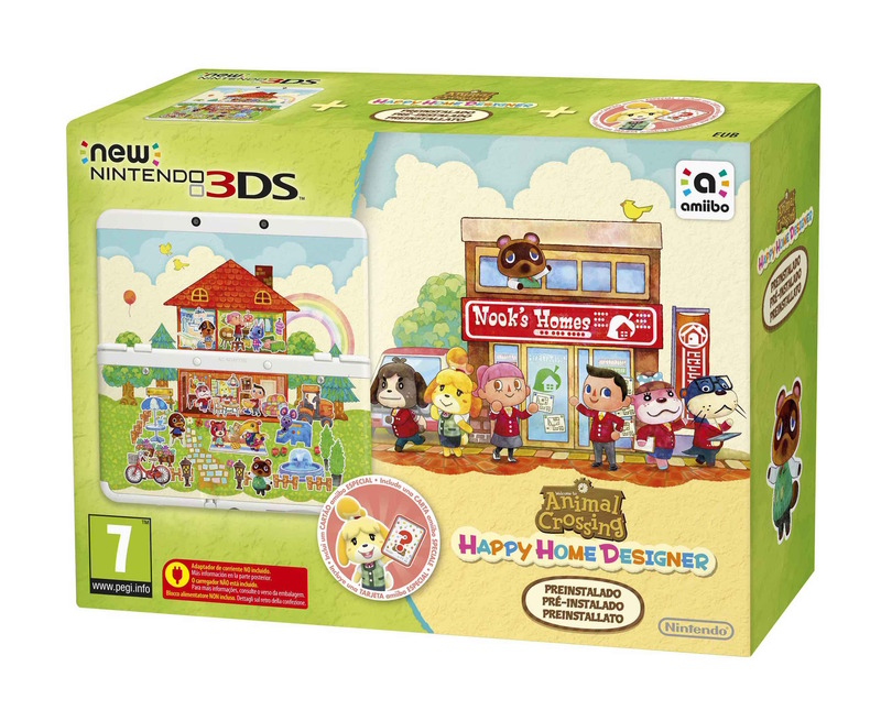Animal Crossing Happy Home Designer, Nintendo annuncia nuovi bundle