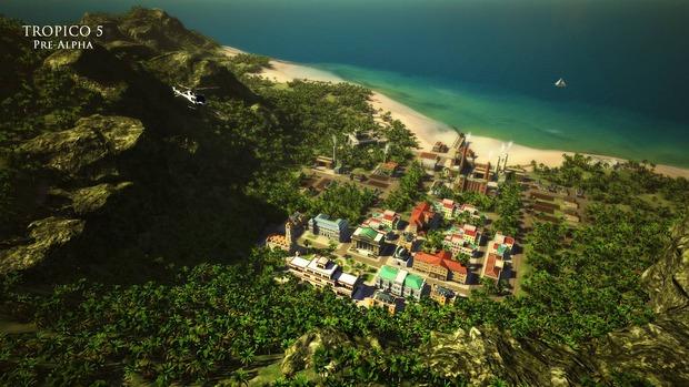 Tropico 5: nuove immagini della versione pre-alpha