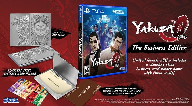 SEGA annuncia Yakuza Zero: The Business Edition