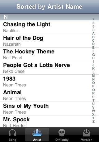 Rock Band, arriva l'app gratuita per esplorare il catalogo dei brani