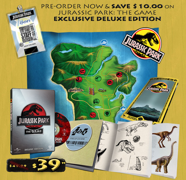 Jurassic Park: TellTale annuncia una collection's edition negli USA