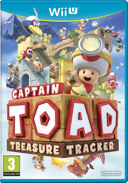 Captain Toad Treasure Tracker: ecco la copertina europea