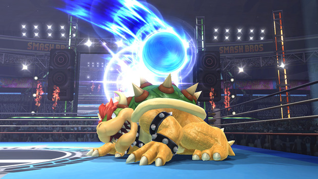 Super Smash Bros Wii U: Bowser si mostra in un'immagine