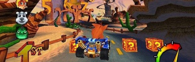 Crash Tag Team Racing: Un video mostra il gioco mai pubblicato