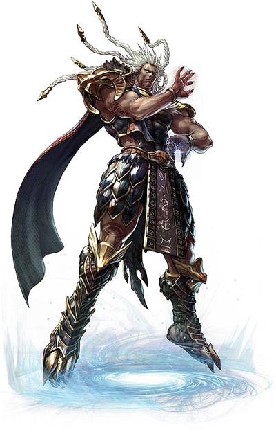 Algol e Edge Master personaggi giocabili in Soul Calibur V