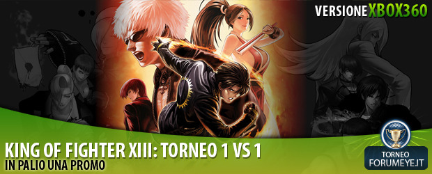 [360]King of Fighters XIII: Torneo 1 Vs 1