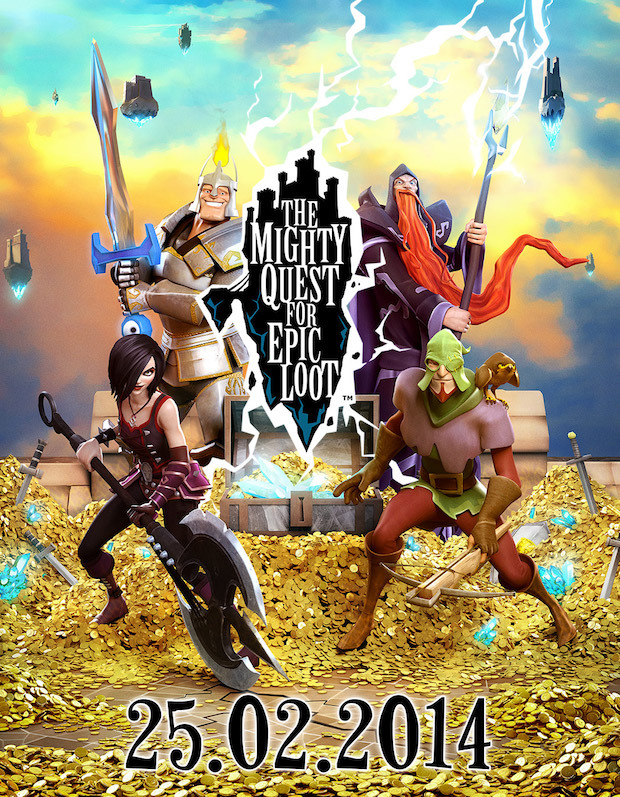 The Mighty Quest for Epic Loot: open beta al via il 25 febbraio