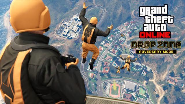 Saltiamo nel vuoto in GTA Online con la nuova modalità DropZone Adversary Mode