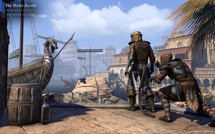 The Elder Scrolls Online Tamriel Unlimited: trailer, immagini e dettagli del DLC Thieves Guild