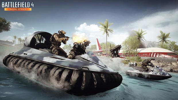 Battlefield 4: il DLC Naval Strike si mostra in immagini