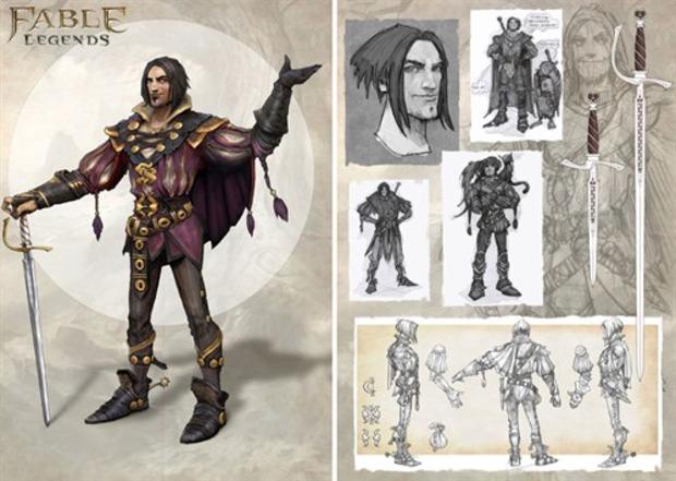 Fable: Legends - dettagli e immagini sul primo personaggio