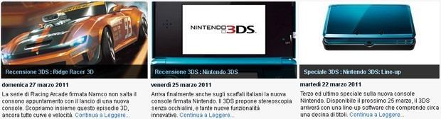 3DSeye: la sezione di Everyeye.it interamente dedicata al Nintendo 3DS
