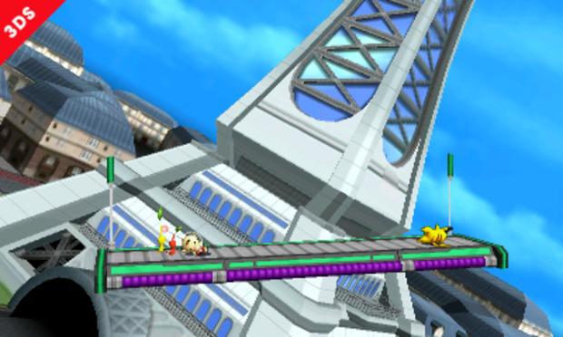 Super Smash Bros: nuovo screen per Luminopoli