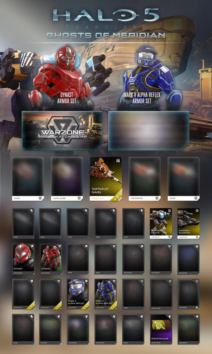 Halo 5 Guardians: primi dettagli sui contenuti dell'aggiornamento Ghosts of Meridian