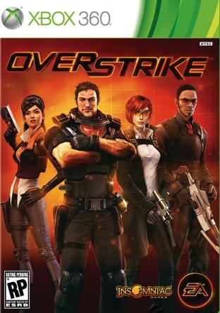 Overstrike: la box art ufficiale per il nuovo shooter di Insomniac