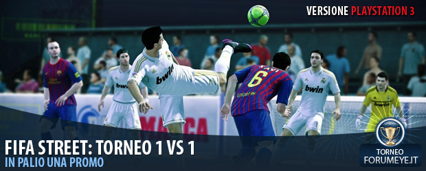 [PS3]Fifa Street: Torneo 1 Vs 1