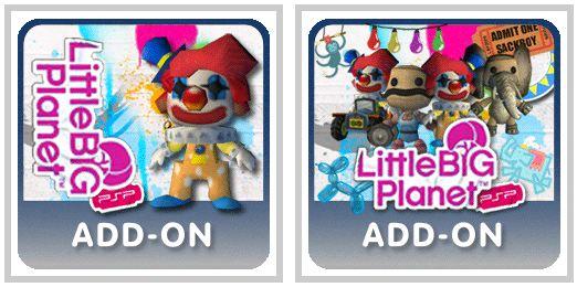 LittleBigPlanet PSP celebra il circo