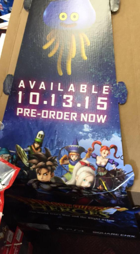 Dragon Quest Heroes uscirà in Occidente il 13 ottobre?