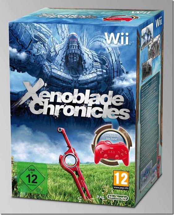 Xenoblade Chronicles: data di uscita europea e bundle speciale