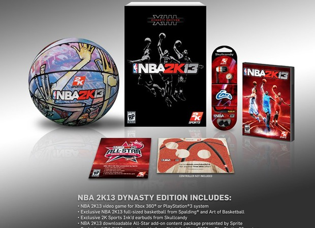 NBA 2K13: annunciata negli USA la Dynasty Edition