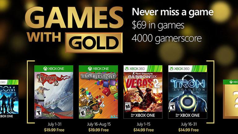 The Banner Saga 2 e Tumblestone tra i Games with Gold di Luglio