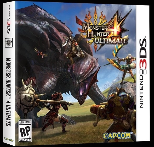 Monster Hunter 4 Ultimate: copertina della versione americana