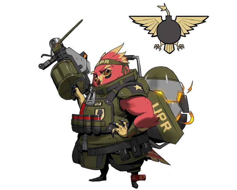 Battleborn: Il terzo personaggio DLC sarà un uccello