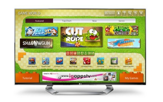 In arrivo il portale Game World per le Smart TV LG