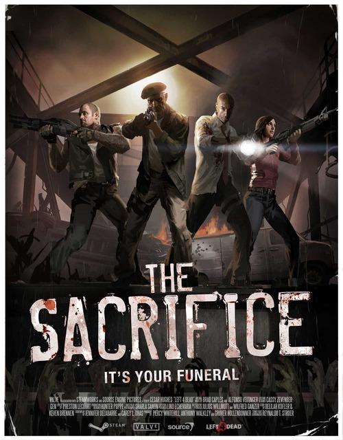 Left 4 Dead, nuovi dettagli per 'The Sacrifice'