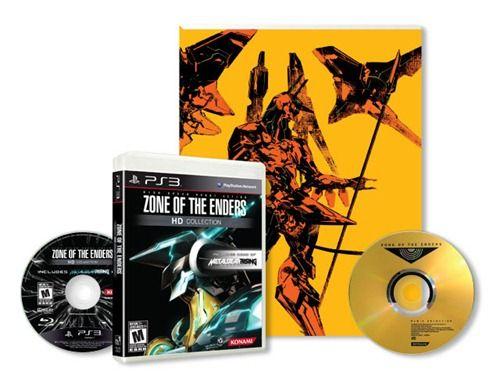 La limited edition della  Zone of the Enders HD Collection include un artbook di 100 pagine