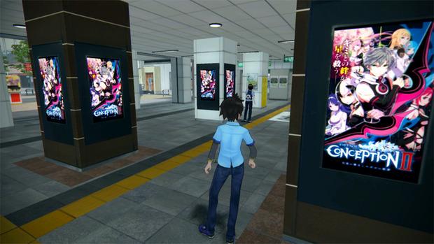 Akiba's Trip 2: i nuovi scatti mostrano i cartelloni pubblicitari