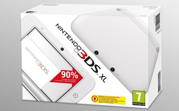 Il Nintendo 3DS XL bianco disponibile nei negozi dal 22 Febbraio