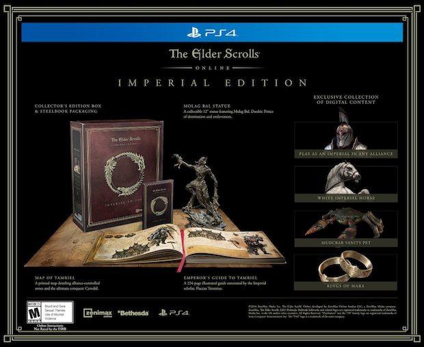 The Elder Scrolls Online: Amazon svela la Imperial Edition