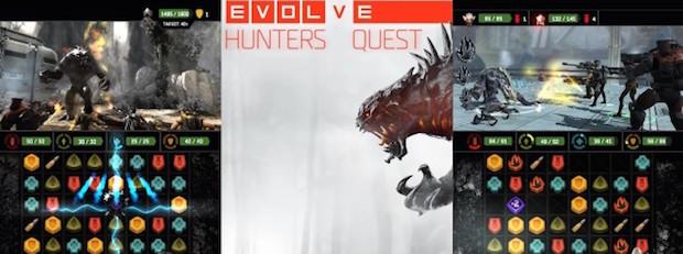 Evolve Hunters Quest disponibile per iOS e Android - Notizia