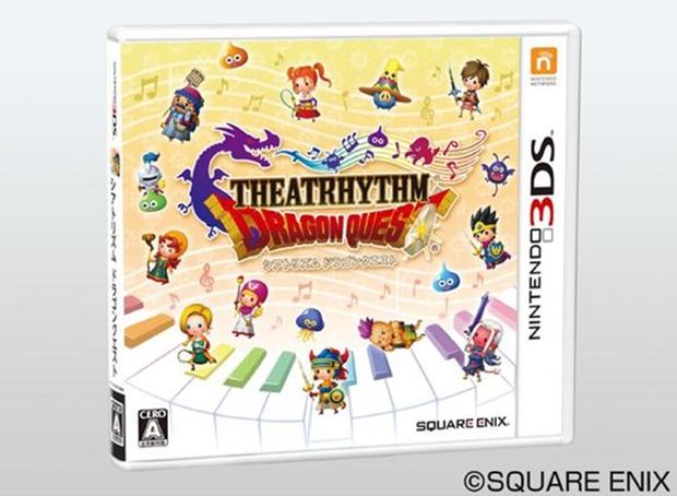 Theatrhythm Dragon Quest, ecco la boxart ufficiale giapponese