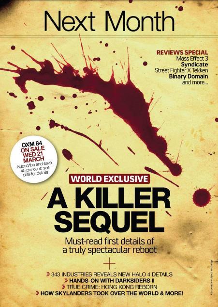 Un 'Killer Sequel' rivelato sul prossimo numero di OXM