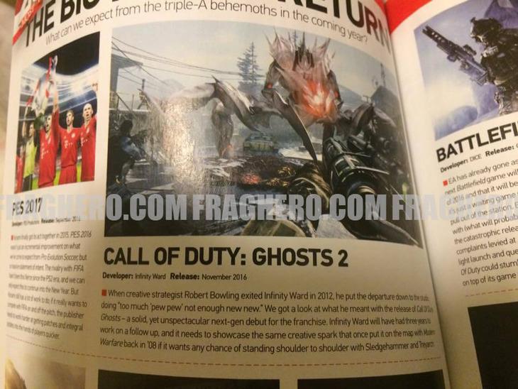 Call of Duty Ghosts 2 svelato in anticipo da una rivista inglese?