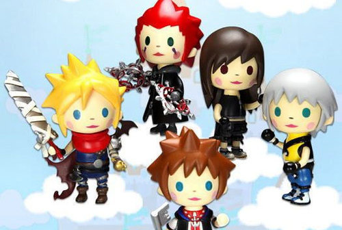 Nuove action figures dedicate a Kingdom Hearts in versione 'puccettosa'